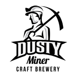 Dusty Miner Craft Brewery Logo